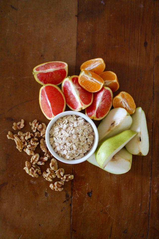 Organic Produce Orange Blood Orange and Pear Gluten free
